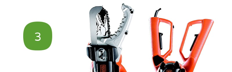 Black + Decker GK1000 Coupe-branches électrique Alligator 550 W